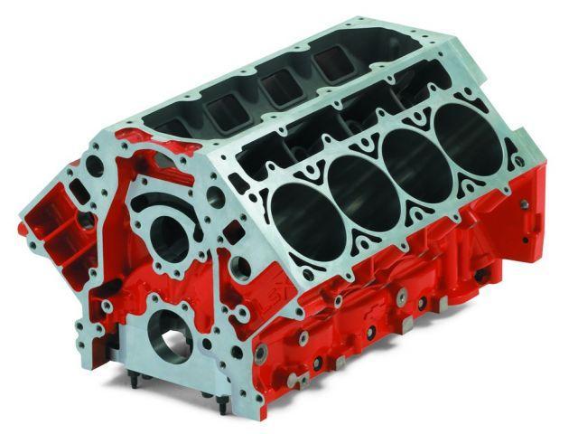 Блок цилиндров дизельного двигателя