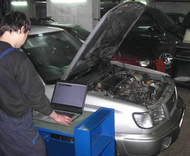 Диагностика автомобиля с помощью ноутбука своими руками