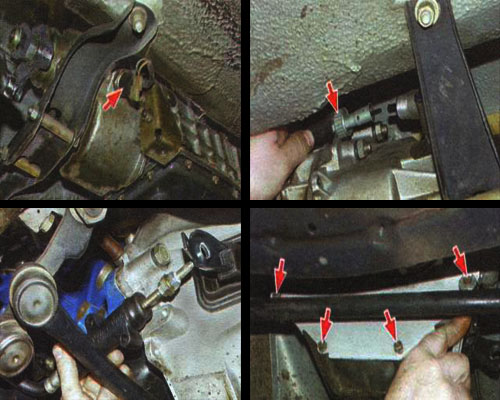 Демонтаж КПП ВАЗ 2106