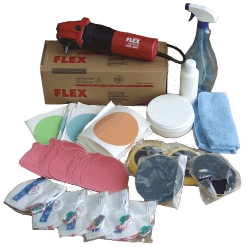 Инструменты и материалы для полировки