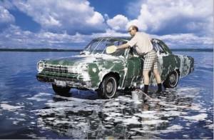 Помыть машину своими руками