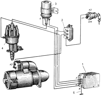 Контактно транзисторная система зажигания
