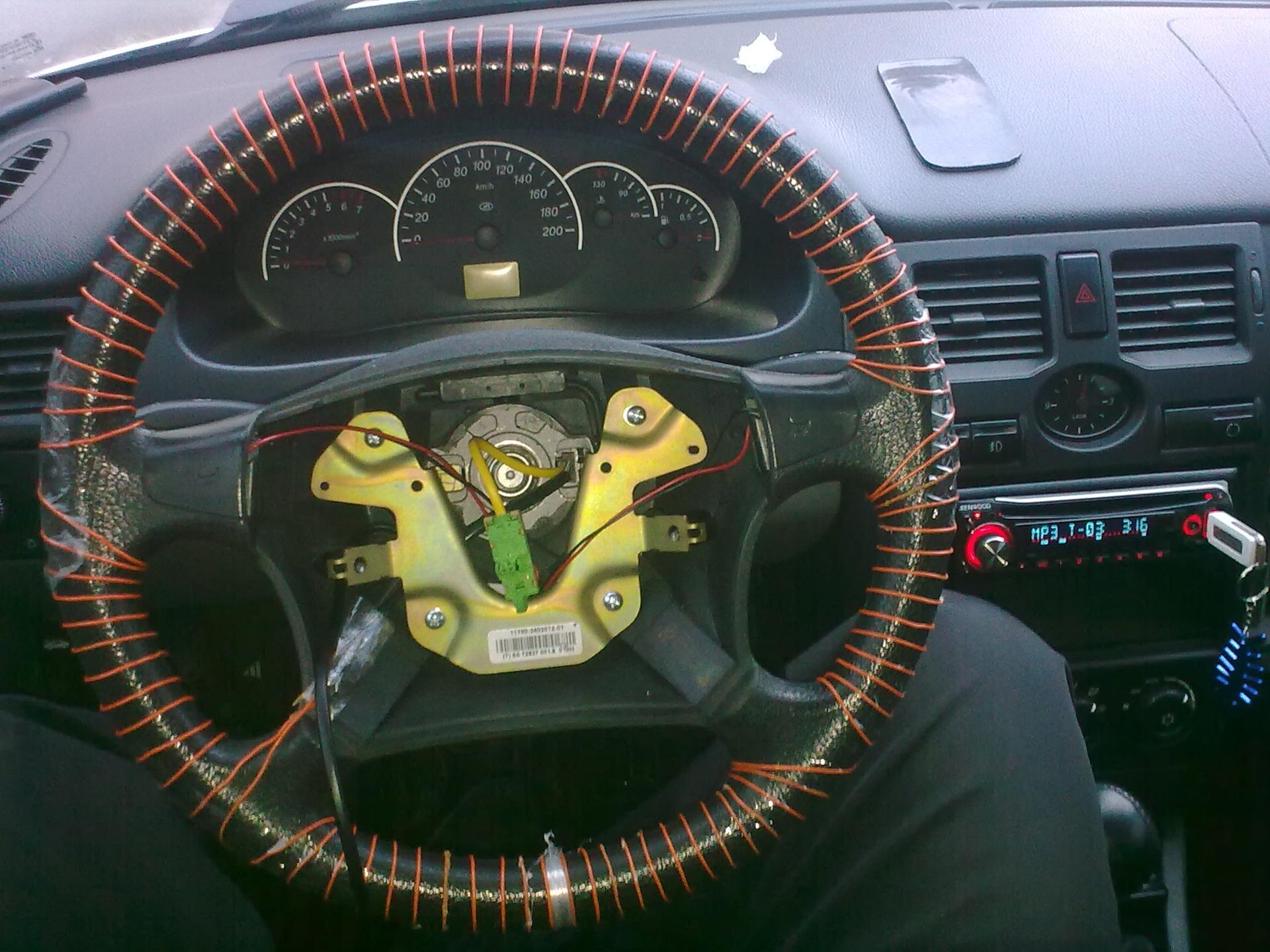 Как восстановить руль своими руками 17