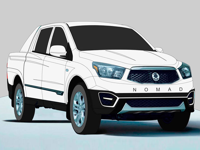 SsangYong Nomad 2014
