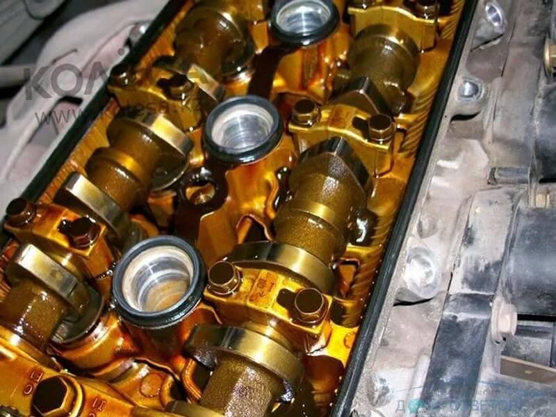 Так выглядит мотор с правильно подобранным маслом
