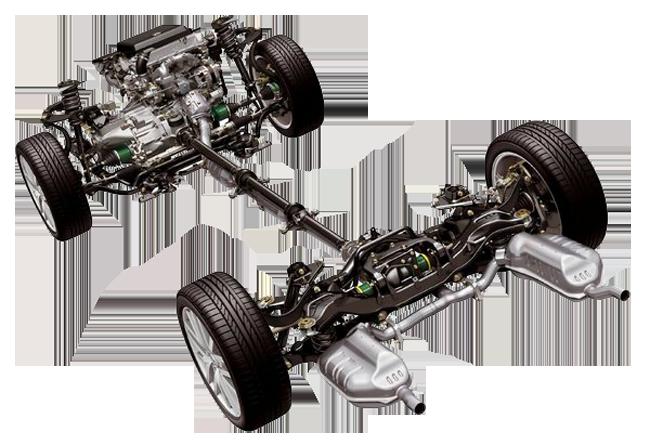 схема ходовой автомобиля ниссан