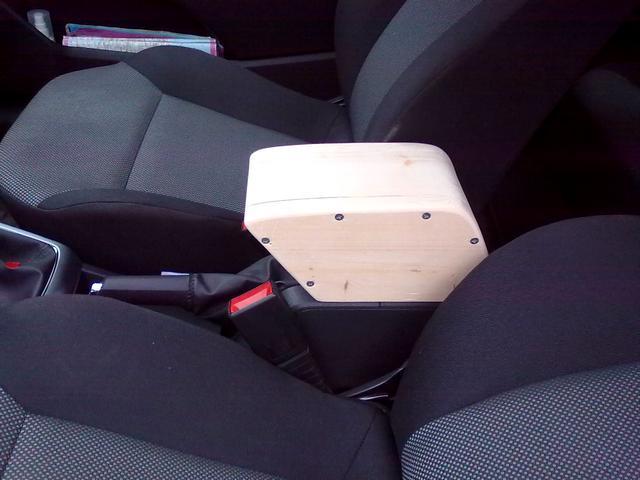 Подлокотники для авто своими руками