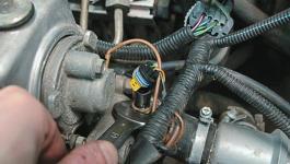 Датчик температуры двигателя - где он