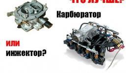 Инжектор или карбюратор