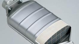Сажевый фильтр дизеля