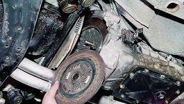 Замена сцепления и диска на ВАЗ 2107