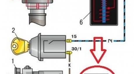 Контактная система зажигания ВАЗ-2106