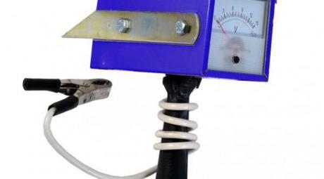 Нагрузочная вилка для автомобильного аккумулятора