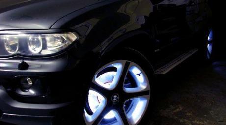 Как сделать подсветку дисков авто