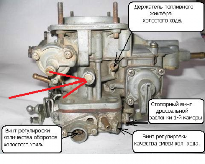 Настройка карбюратора ВАЗ 2106