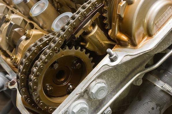 Так выглядит двигатель с хорошим моторным маслом