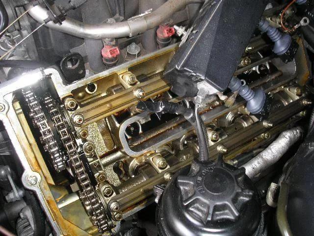 Так выглядит мотор работающий на хорошем масле
