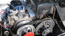 Одноцилиндровый бензиновый двигатель