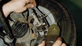 Прокачка тормозов ВАЗ-2110