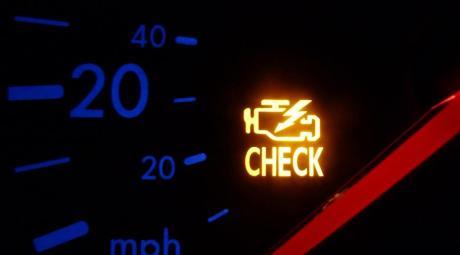 Индикатор неисправности двигателя