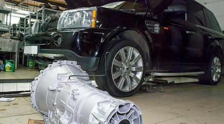 Капитальный ремонт АКПП Land и Range Rover