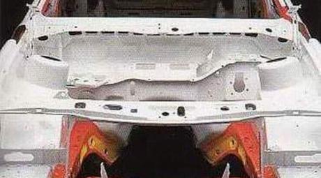 Лонжерон - замена или ремонт
