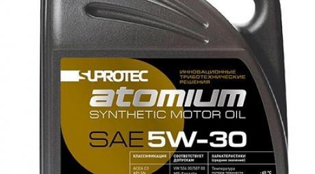Моторное масло Suprotec Atomium