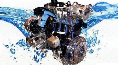 Охлаждение двигателя с помощью антифриза