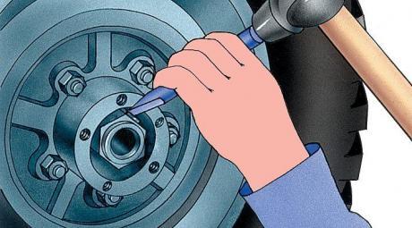 Регулировка подшипников ступиц колес