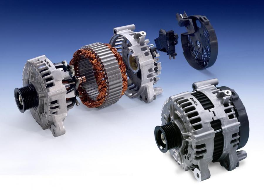 Автомобильный генератор состоит из двух частей