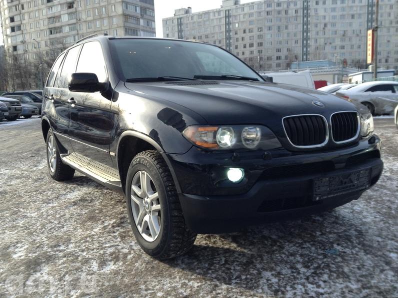 BMW х5 с пробегом в Москве