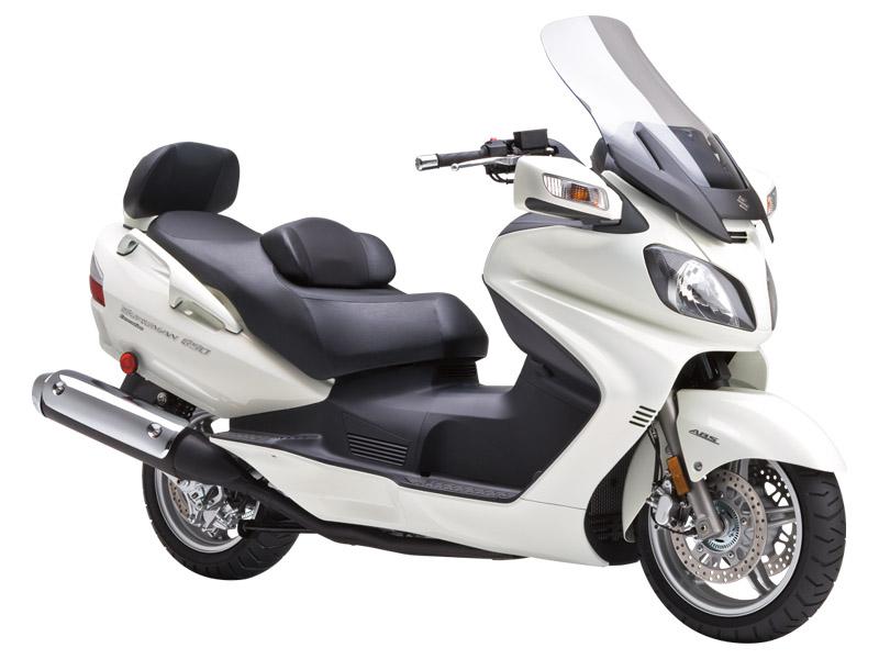 Макси-скутер Suzuki: AN650A