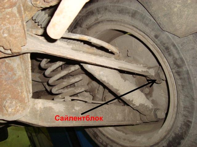 Что такое сайлентблок в автомобиле