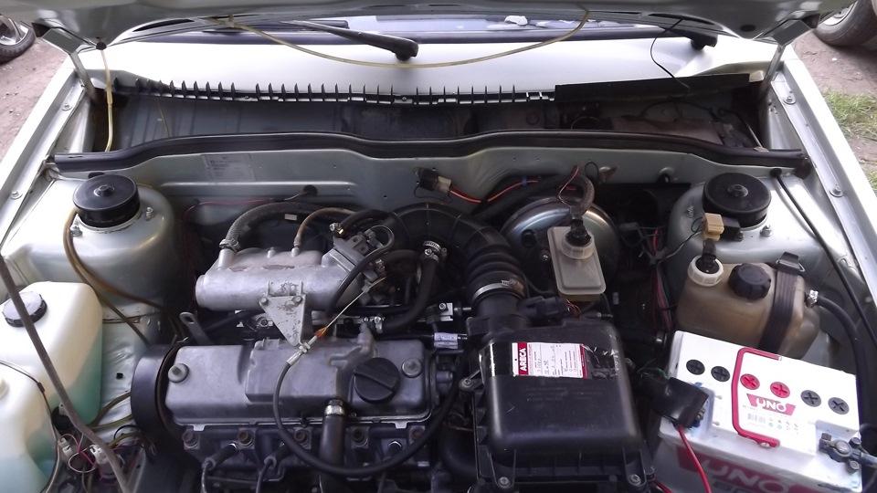 Двигатель современного легкового автомобиля