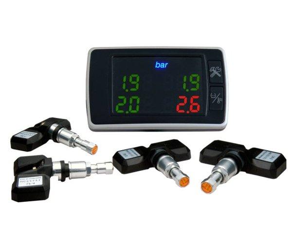 Электронные датчики давления в шинах