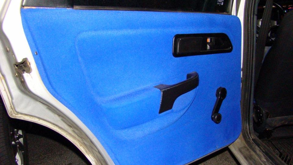 Флокирование двери авто