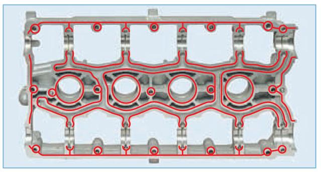 Герметик на плите головки блока цилиндров