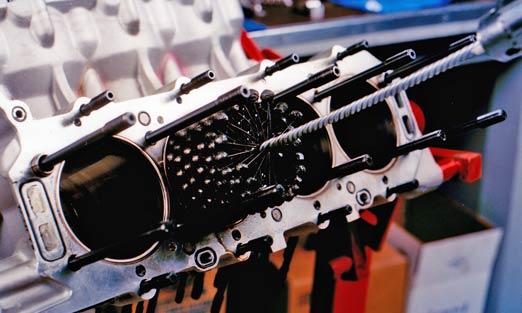 Хонингование цилиндров двигателя