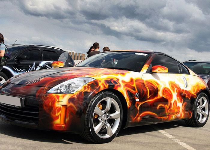 Художественная роспись авто