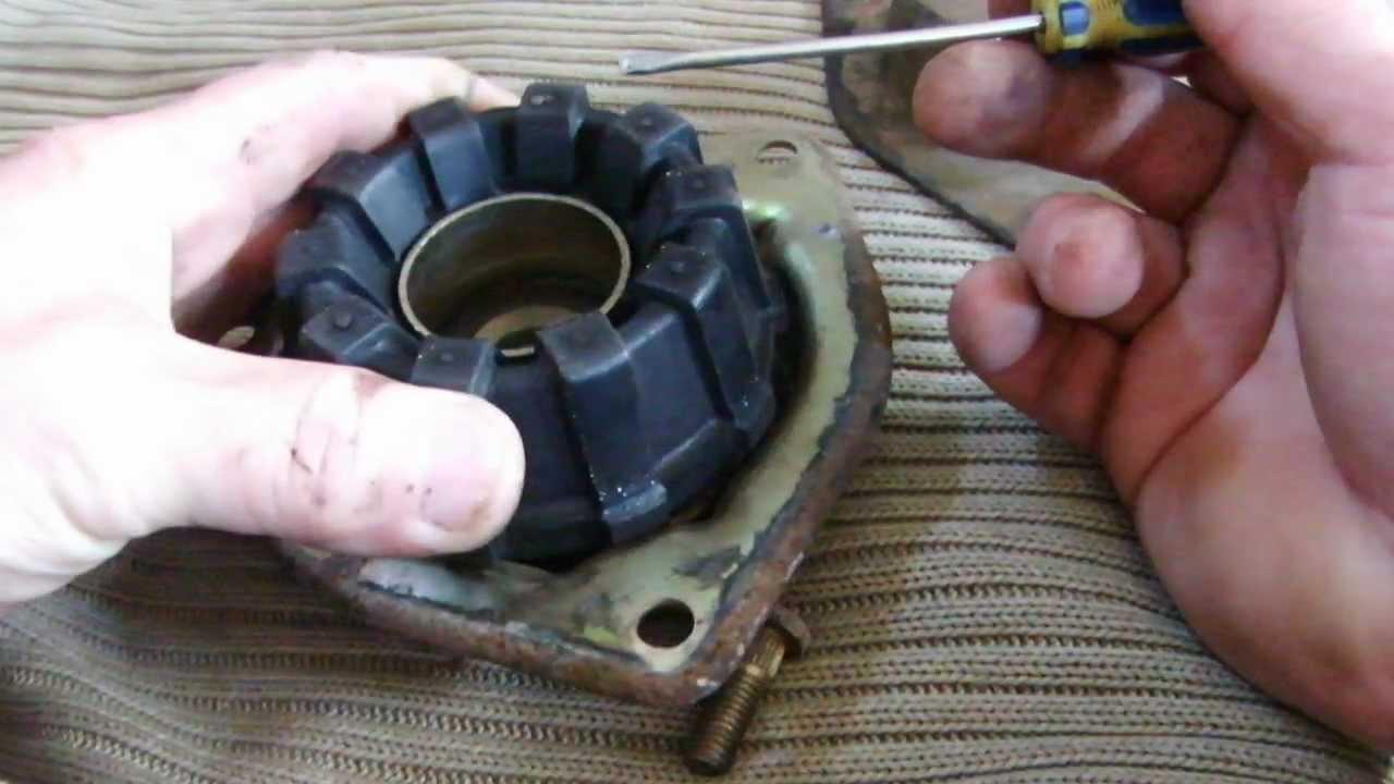 Опорный подшипник передней стойки ВАЗ 2110 - как проверить и заменить своими руками