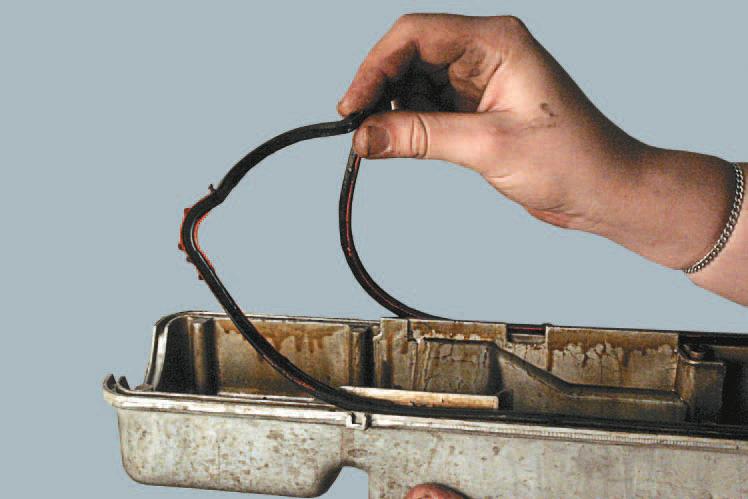 Как поменять прокладку крышки клапанов