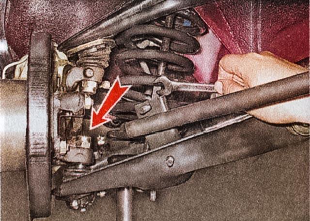 Как поменять задние пружины ВАЗ