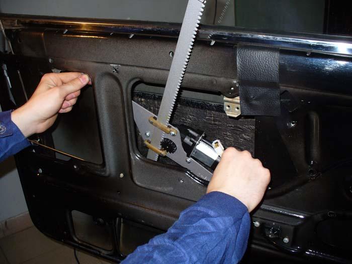 Как поставить стеклоподъемник на ВАЗ