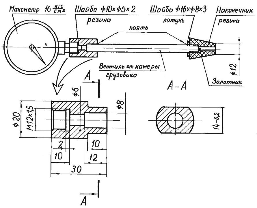 Как устроен компрессометр