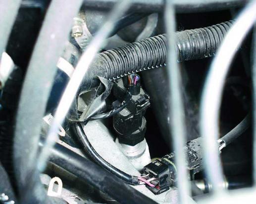 Как заменить датчик скорости на ВАЗ 2110