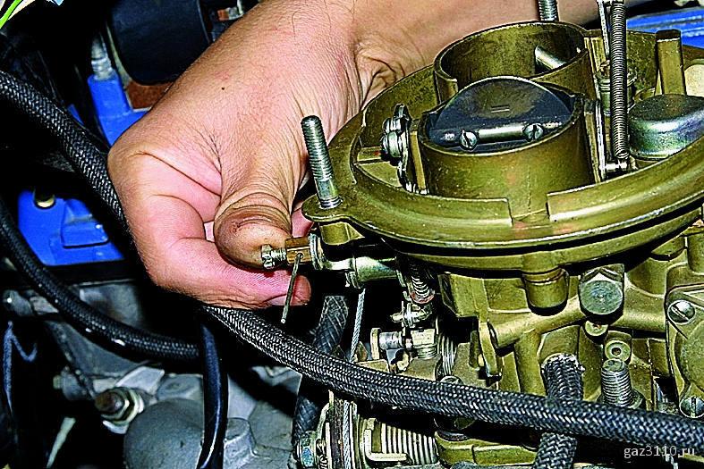 Карбюратор К-151 - устройство, ремонт, регулировка