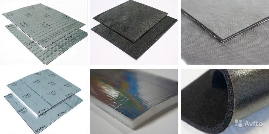Материалы для шумоизоляции, виброизоляции автомобиля