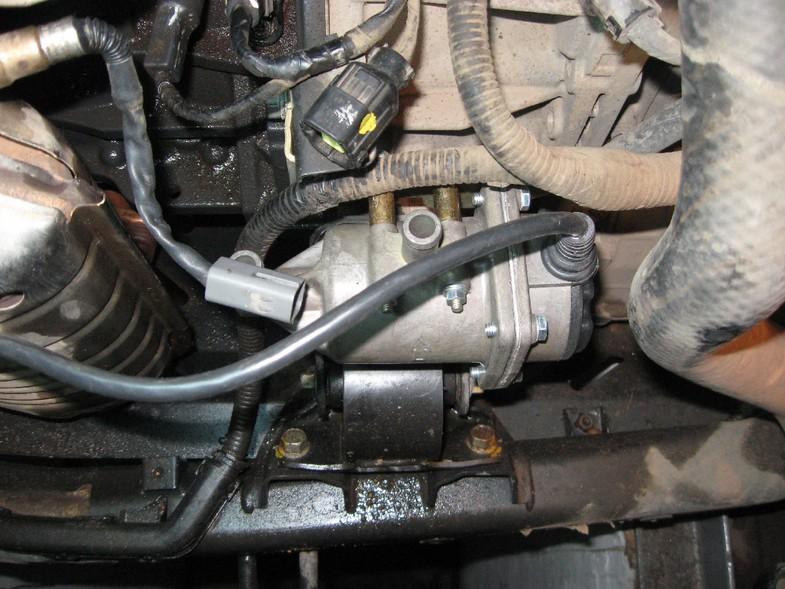 Монтаж предпускового подогревателя на двигатель