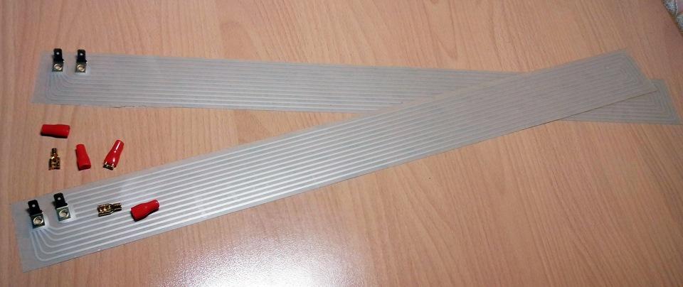 Нагревательные элементы для лобового стекла