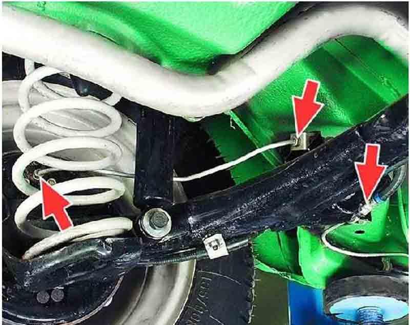 Нарушение герметичности тормозных трубок